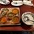 エリックサウスマサラダイナー - 料理写真:200527スパイシーな南インドカレー5種の食べ比べセット1220円バスマティライス400円