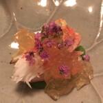 きむら - 料理写真:蟹と白アスパラ