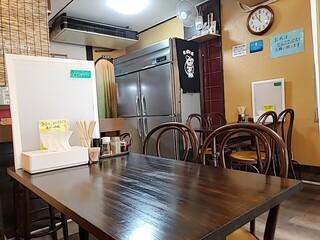 煮干らー麺 カネショウ - 内観