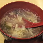 西安曹家 餃子坊 - スープ