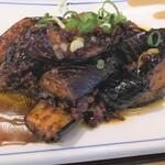西安曹家 餃子坊 - なす味噌炒め