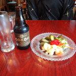 Mio Casaloレストラン - コエドビールとピクルスの盛り合わせ