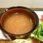 ココカラアヂト カフェプラスシェア - スープ