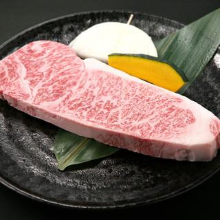 肉を知り尽くした店長が厳選に厳選を重ねたお肉、是非ご賞味ください。