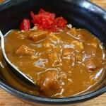 桑原亭 - カレー丼。