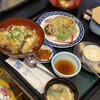 雅楽 - 料理写真:椎茸丼セット。肉厚な椎茸が美味しい〜