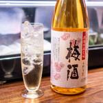 銀座 いっぱし - 梅酒1