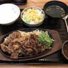 カルビ丼とスン豆腐専門店 韓丼 - 料理写真:カルビ定食