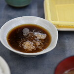 だるまの天ぷら定食 - 天つゆ