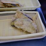 だるまの天ぷら定食 - ナス