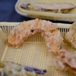 だるまの天ぷら定食 - カボチャ