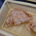 だるまの天ぷら定食 - ブタ