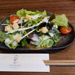 TEPPAN YARO - セットのサラダです。
