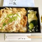 割烹 八幡家 - 宮城のポーク 割ソースのかつ丼(テイクアウト)