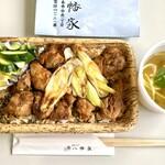 割烹 八幡家 - 地鶏照焼丼(テイクアウト)