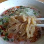 麺屋 八戒 - 担々麺の麺
