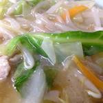 中華料理 まさき亭 - サンマー麺 具材CloseUp