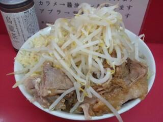 ラーメン二郎 小岩店 - 2012.5 小豚入り(800円)ヤサイニンニク