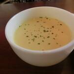 さかい珈琲 - スープ