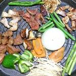 川又食肉店 - サムギョプサル 焼き!