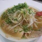 ラーメン藤 - 味噌チャーシュー