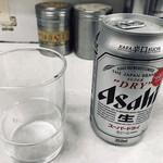 ラーメン芳蘭 - アサヒスーパードライ(350ml)(400円)
