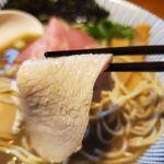 131567150 - 一番搾りの煮干しそば特製(1010円)
