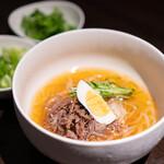焼肉 じゅん - 自家製盛岡冷麺