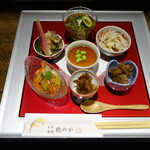 穂のか - 6種の小鉢¥1200