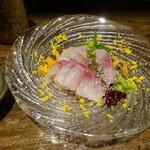 穂のか - イサキ刺身¥750