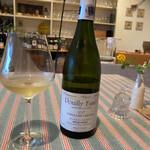 restaurant Noël - 白ワイン。プイィ・フュメ。