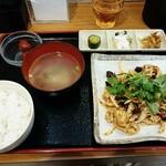 和合餃子 - 牛ハチノス和元物  980円