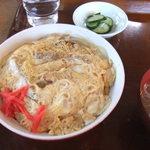 あさひ軒 - 料理写真:カツ丼750円