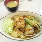 13157980 - チキン野菜カレー(玄米)