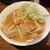 肉けんちん蕎麦 てけ丸 - 料理写真:もつ煮