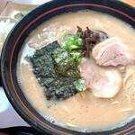 うちだラーメン - 料理写真:大ラーメンセット