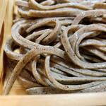 粗挽き蕎麦 トキ - 拡大