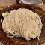 山崎麺二郎 - つけめん 700円 (冷盛)