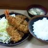 島田 - 料理写真:盛り合わせ定食900円