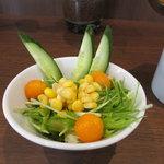 カフェ クロスポイント - サラダ アップ