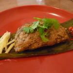 リトル スパイス - 豚のレッドカレー蒸し(ホーモック・ムー)