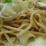 赤坂十八番 - 長崎風の中華餡かけカリカリ揚げ麺ではなく、博多風の炒めチャンポン麺です。