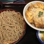 米むら - かつ丼セット