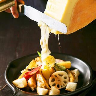 女子会におすすめ!!チーズを食材に絡ませてご堪能あれ♪