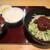 名古屋うどん - 料理写真:冷やし肉みそうどん定食(夏季限定)
