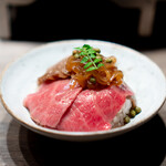 USHIGORO S. - 至高の牛丼  ザブトンと実山椒