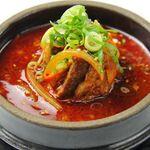 李朝園 - 牛カルビをじっくりと煮込んだカルビスープ