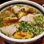 131589632 - オリーブ豚のつけ麺
