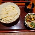 131589637 - オリーブ豚のつけ麺