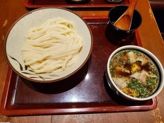 うどん棒 大阪本店 - オリーブ豚のつけ麺